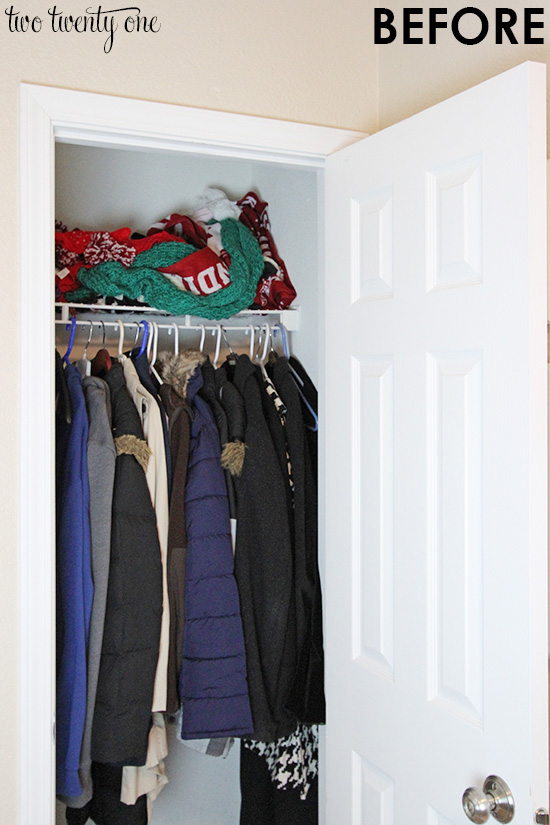 Playroom Closet Organization
