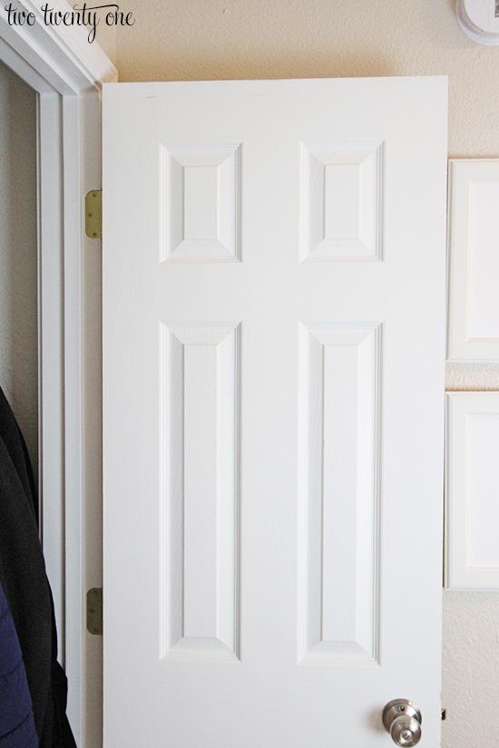 closet door before