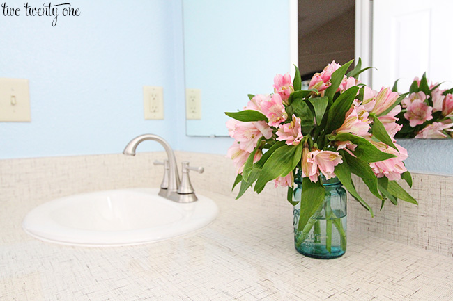 New Bathroom Countertops