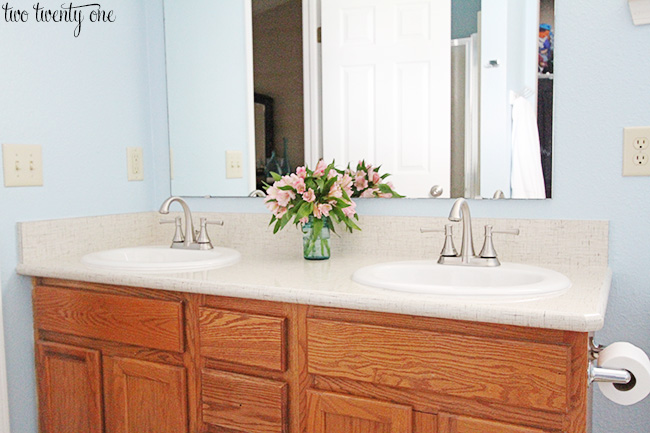 laminate countertops bathroom