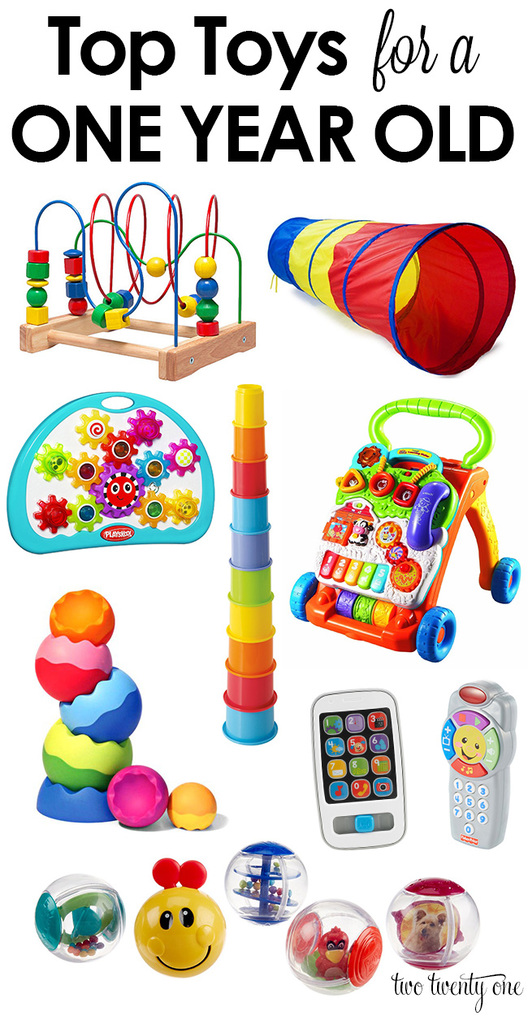 Tried and true top toys for a one year old!