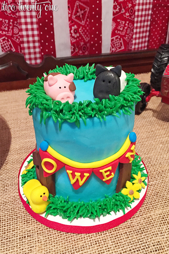 barnyard smash cake