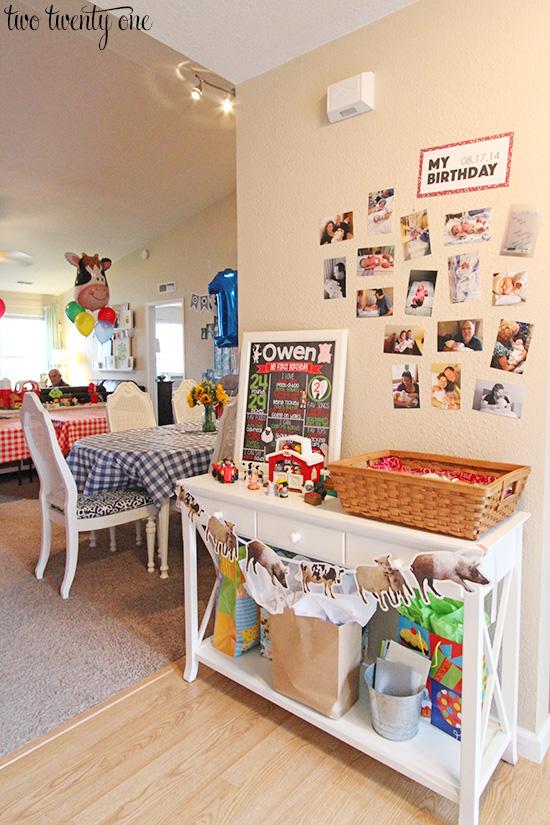 barnyard theme birthday