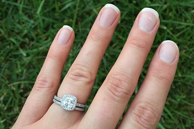 fake wedding rings