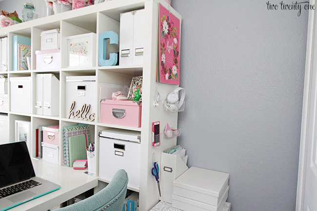 office organization after