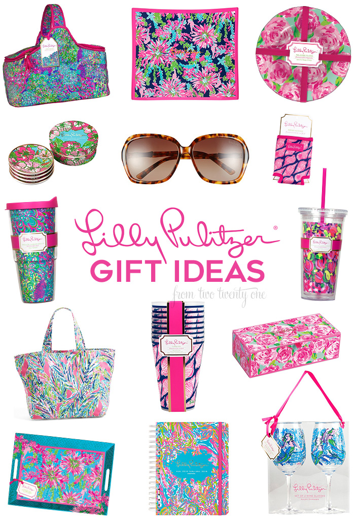 Lilly Pulitzer Gift Ideas! Must haves for holiday gifting!