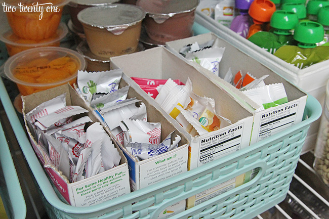 baby snack storage