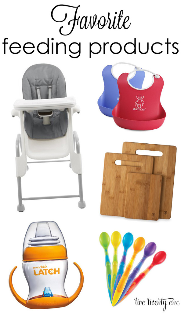 Favorite feeding products for babies and toddlers!