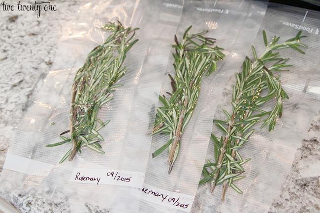 foodsaver herbs