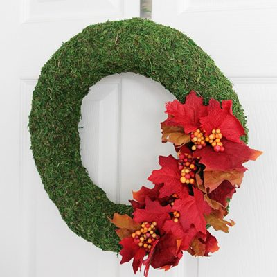 Fall Moss Wreath