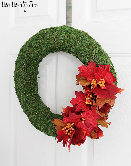 how to make fall wreath