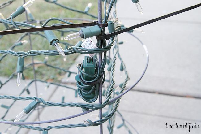 tomato cage tree 1