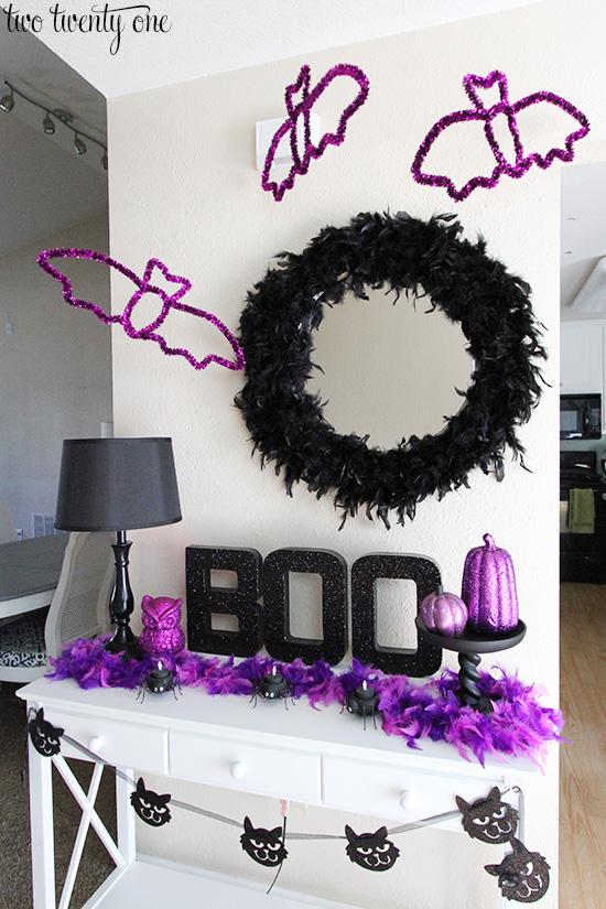 2- halloween entryway