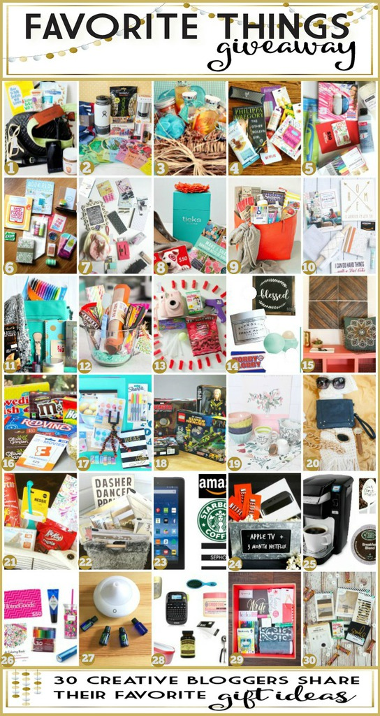 Favorte Things Giveaway and Gift Ideas for the Holidays (1)