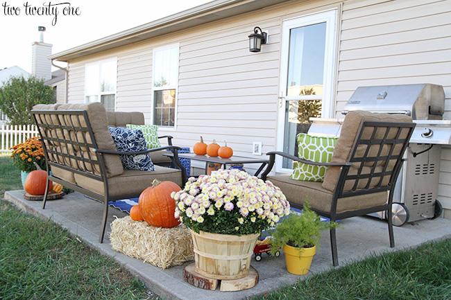 fall back porch
