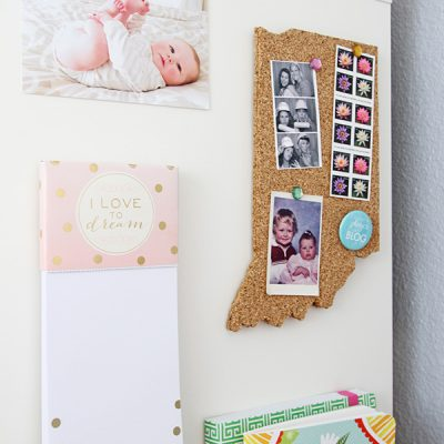DIY State Cork Board