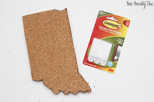 state shaped cork board 4