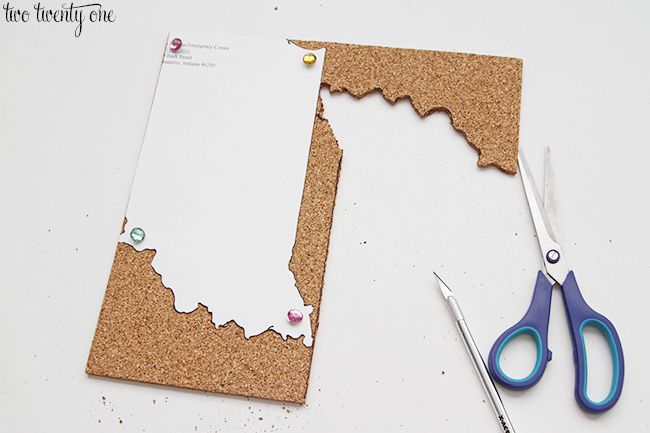 state shaped cork board 6