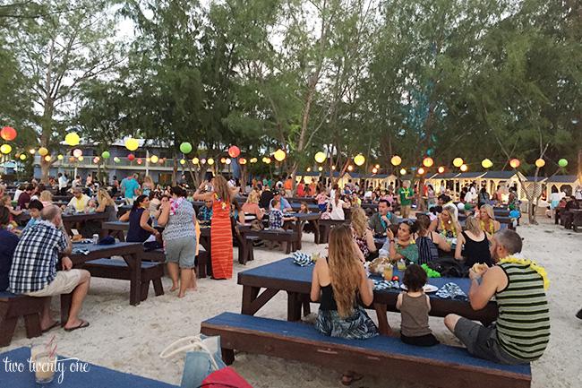 beaches turks and caicos beach party