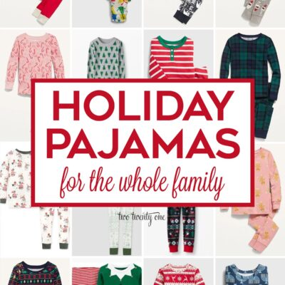Holiday Pajamas Galore
