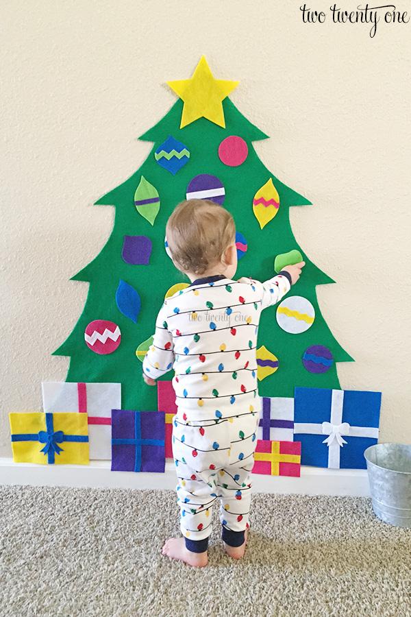 felt christmas tree patterns