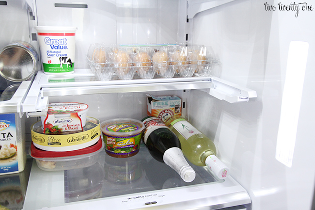 Samsung Flex fridge shelf