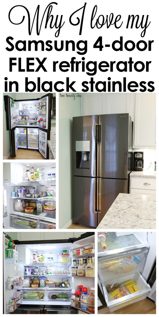 Looking for a new fridge? Here's why I love my Samsung 4-door Flex refrigerator in black stainless steel