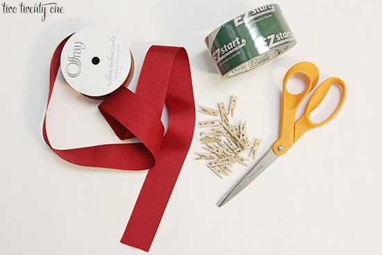christmas card holder supplies