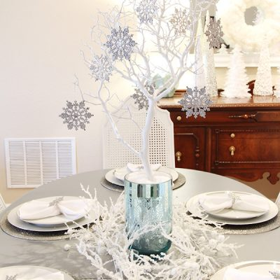 Winter Wonderland Dining Room