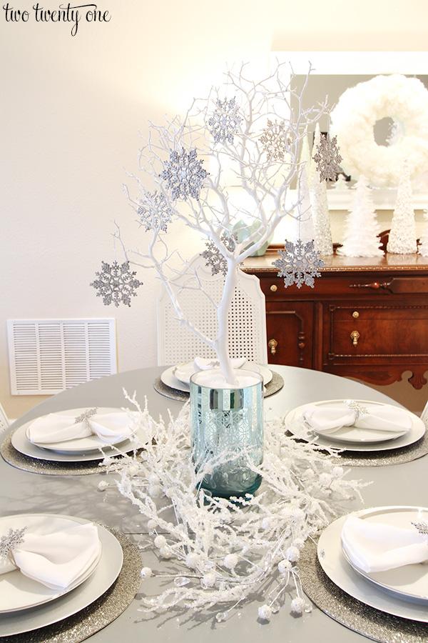 Winter Wonderland Dining Room
