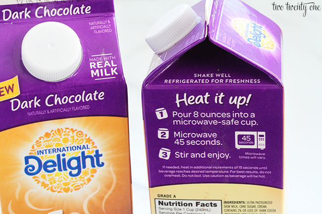 international delight dark chocolate hot chocolate