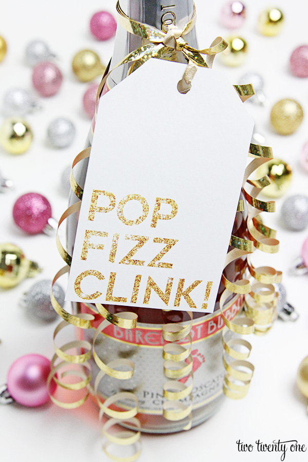 pop fizz clink champagne tag 1