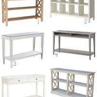 Console tables for less than $250 b