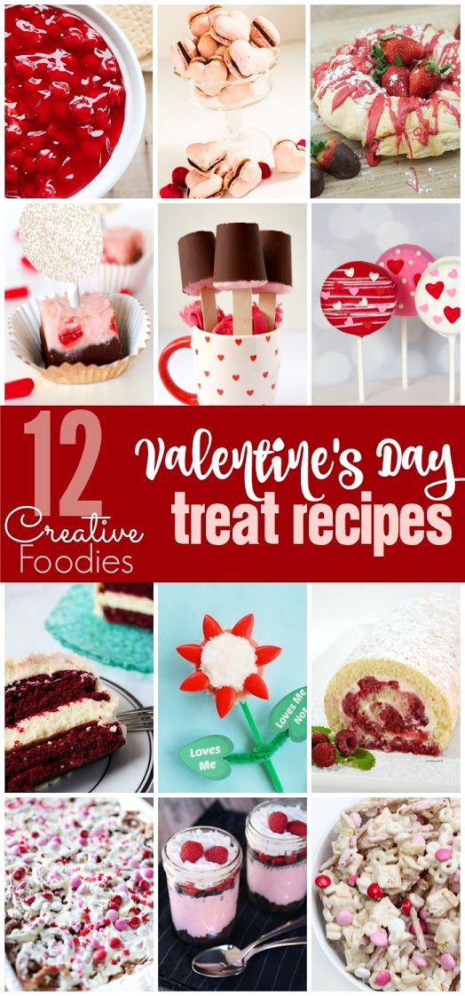Valentine's Day Creative Foodies Recipes