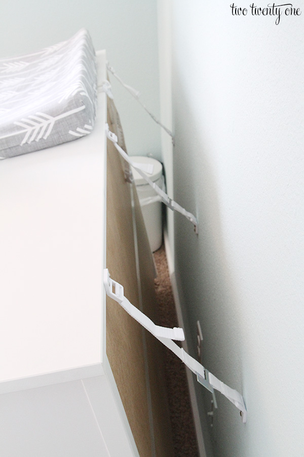 Ikea Under Cabinet Glass Rack ~   to anchor furniture! Life saving information to keep children safe