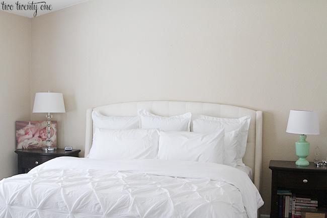 bland master bedroom