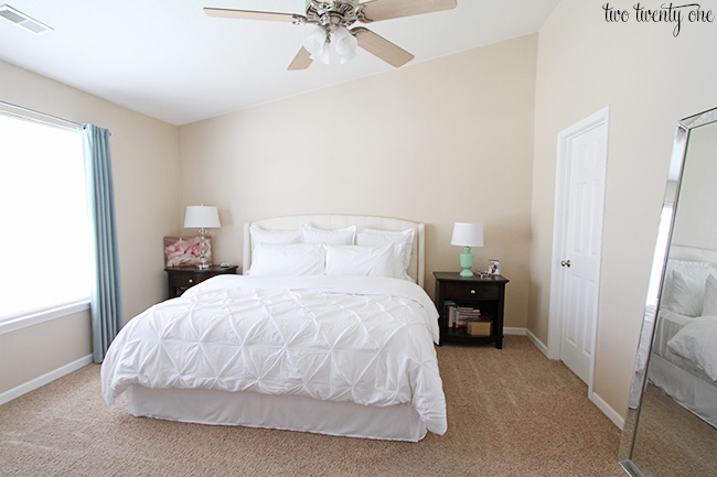 Master Bedroom Wall Color - Sherwin Williams Sea Salt