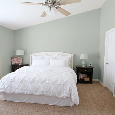 Master Bedroom Paint Mock Ups