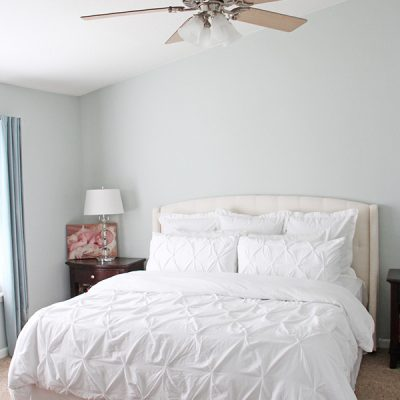 Master Bedroom Wall Color – Sherwin Williams Sea Salt