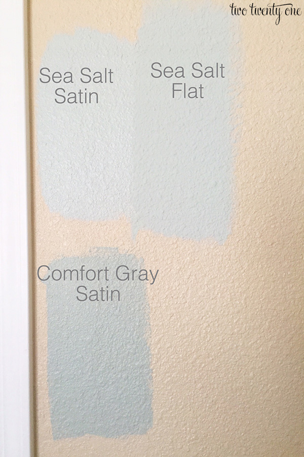 sea salt satin vs sea salt flat