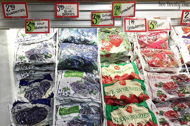 trader joe's frozen berries