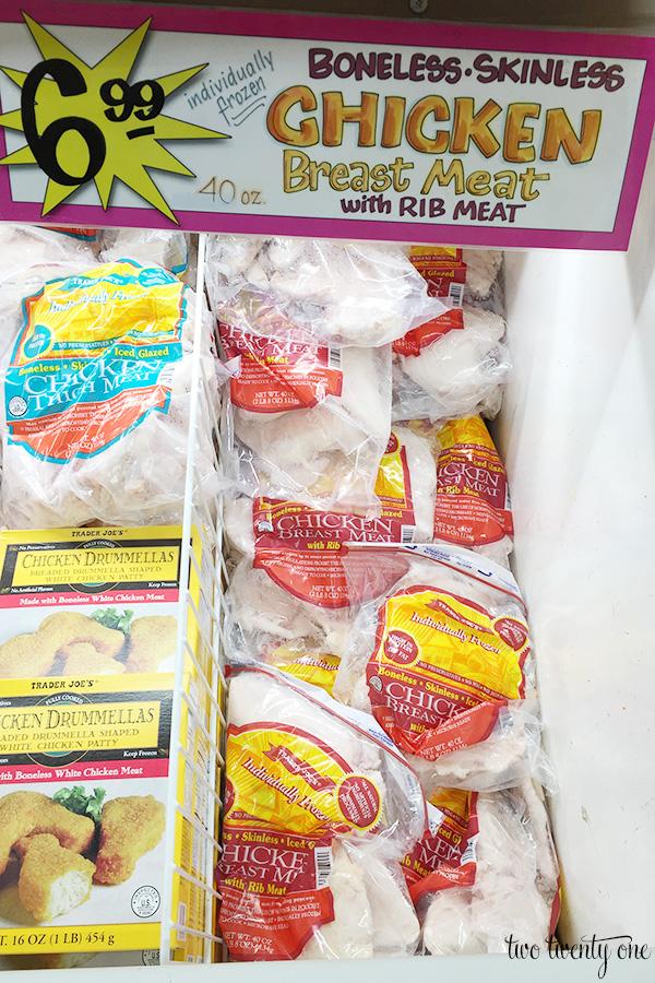 trader joe's frozen chicken