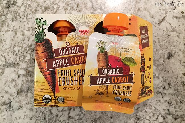 trader joe's fruit sauce crushers
