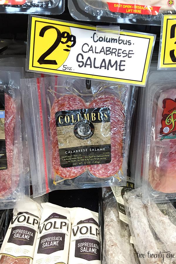 trader joe's salami