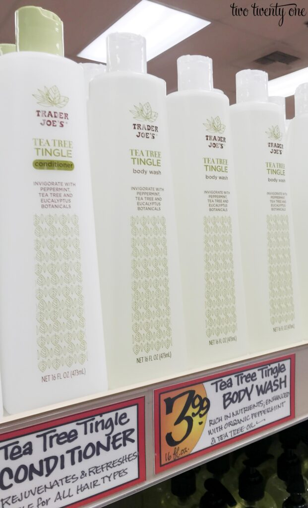 Trader Joe's Tea Tree body wash