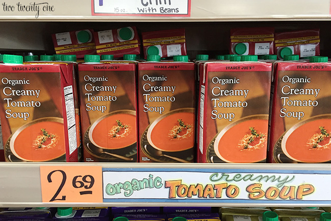 trader joe's tomato soup