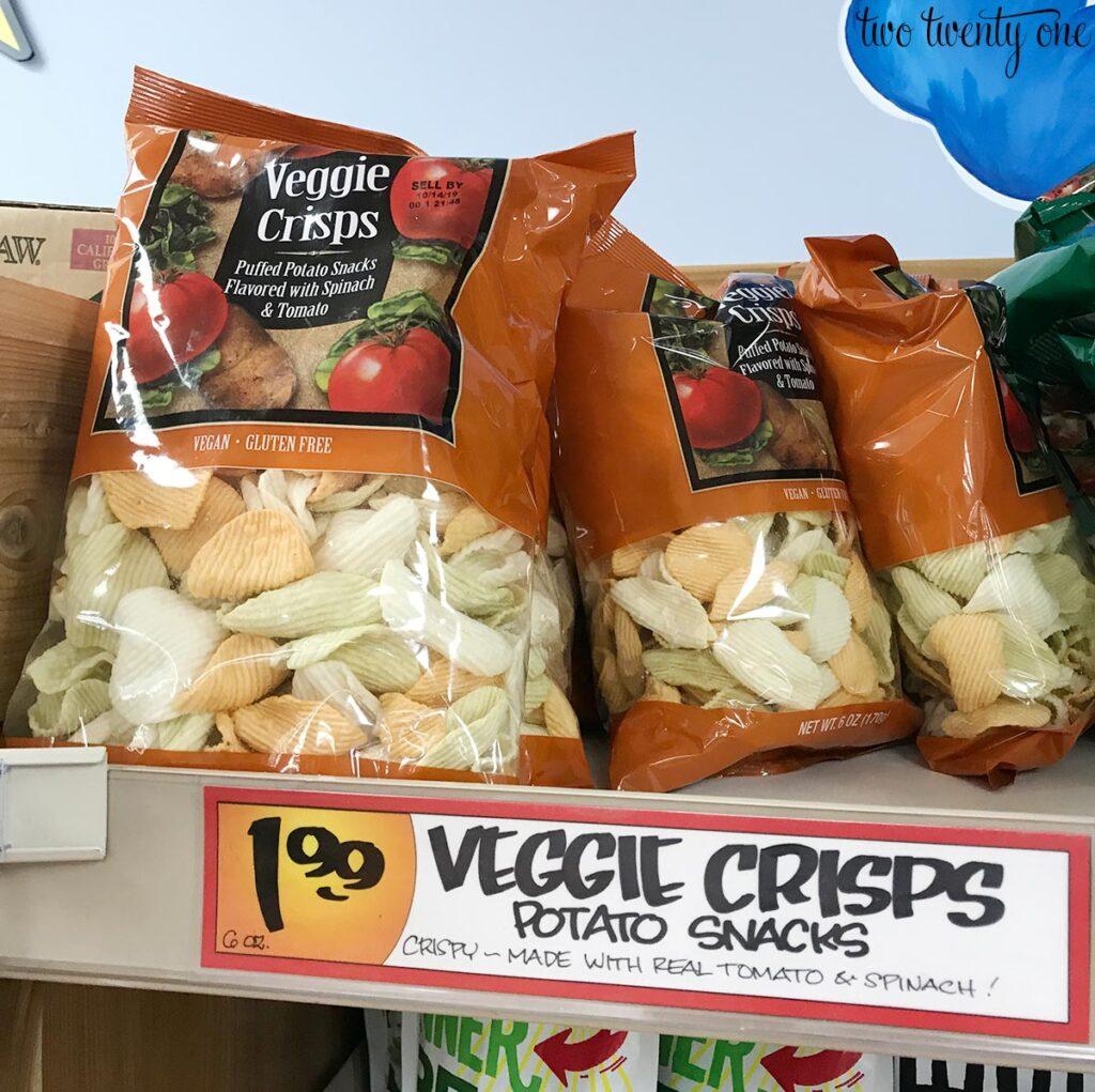 Trader Joe's veggie crisps