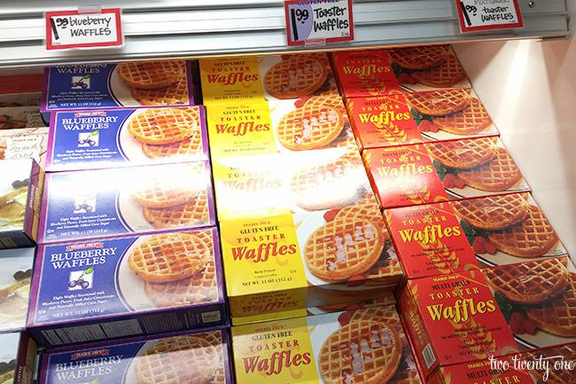 trader joe's waffles