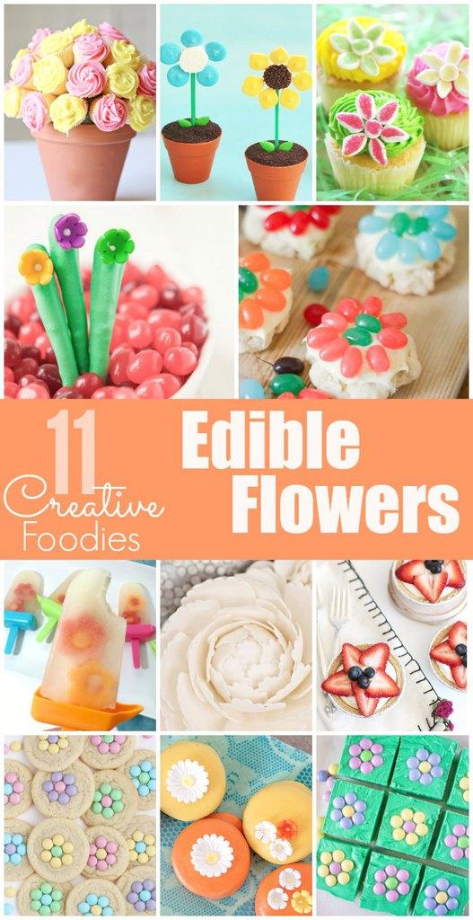 11 Edible Flower Recipes!