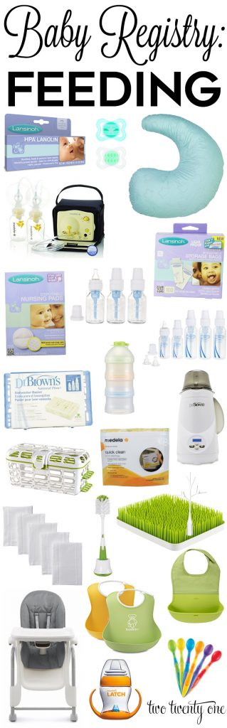 Baby Registry: Feeding Products
